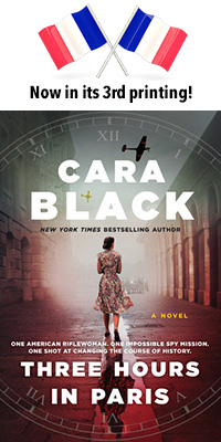Three Hours in Paris by Cara Black